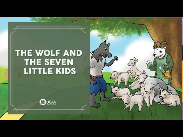 Learn English Listening | English Stories - 81. The Wolf and the Seven Little Kids
