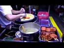 Шаурма на углях Уличная еда под мостом Типичная китайская шавуха Китай Chinese stre