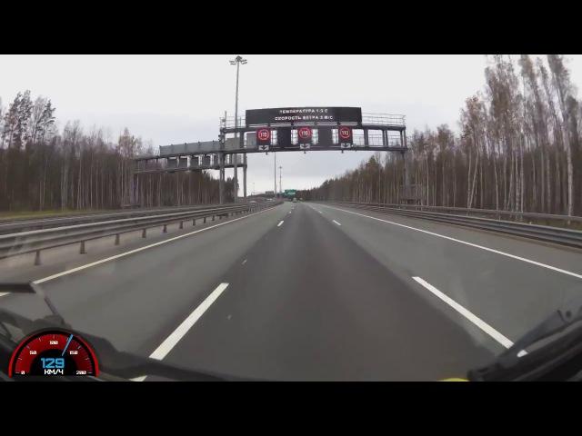 Минута страха - УАЗ Буханка на 130 км\ч