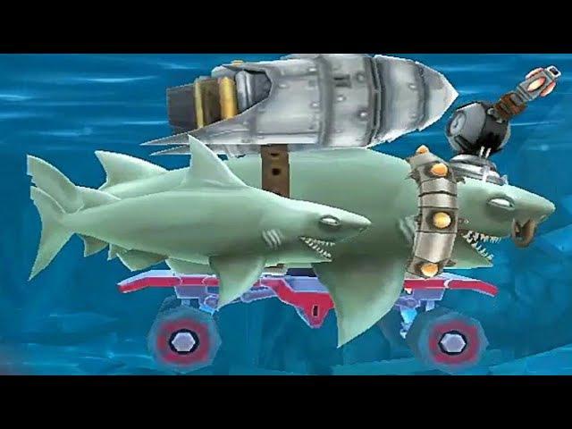 БЕССМЕРТНАЯ РИФОВАЯ АКУЛА! ~ Hungry Shark Evolution