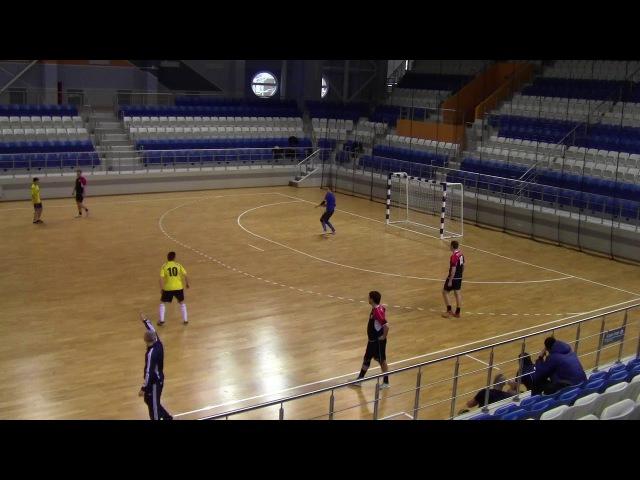 Экситек 9-4 Керамин. Мини-футбол 20172018. 11-й тур. Высшая лига (21.01.2018)