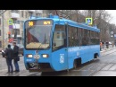 Трамвай 71-619А (КТМ-19) №4332 Московский Транспорт