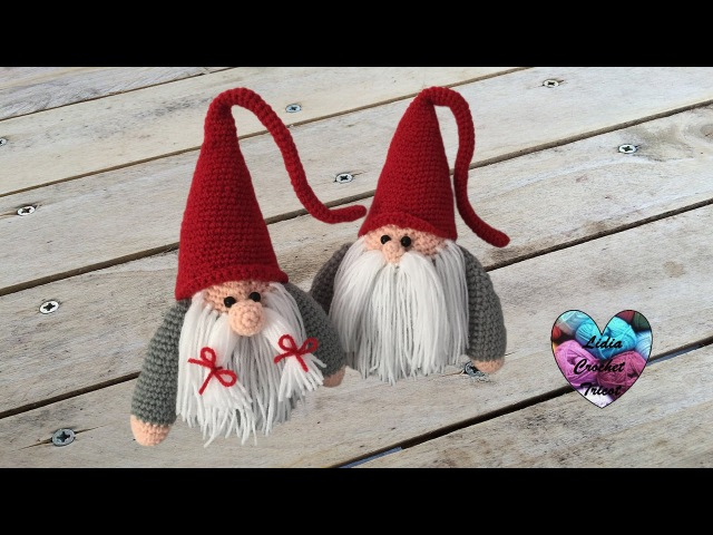 Gnome de Noël Amigurumi crochet (papa) /Christmas Gnome (father) (english subtitle)