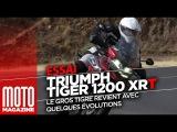 Triumph Tiger 1200 XRT essai 2018 - le gros tigre a bien