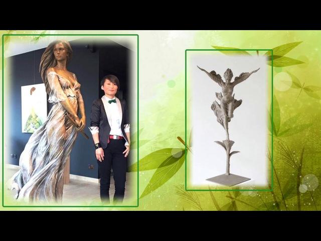 Удивительно реалистичные скульптуры из бронзы. Скульптор китаянка Лу Ли Рон (Luo Li Rong)