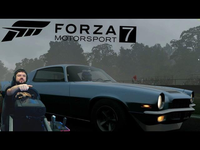 Forza Motorsport 7 крутой американский чемпионат на Chevy Camaro Z28 Даём игре второй шанс