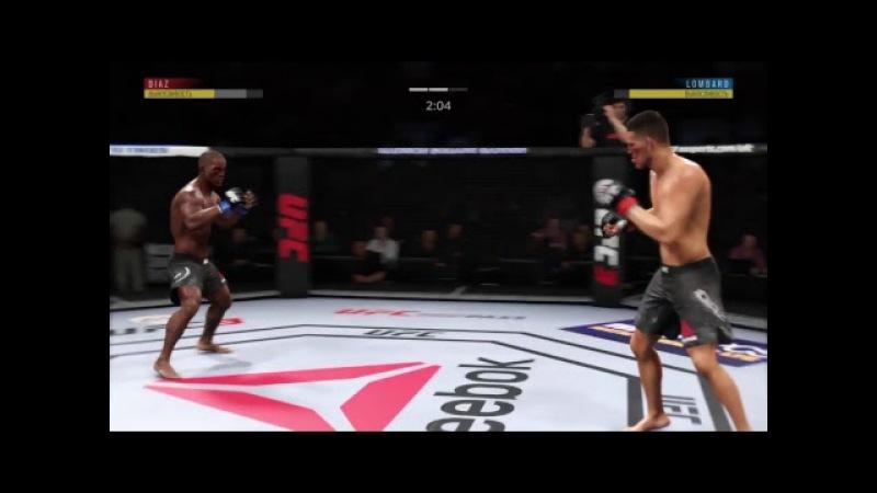 JFL 4 WELTERRWEIGHT Hector Lombard jargreek vs Nick Diaz shved_vl