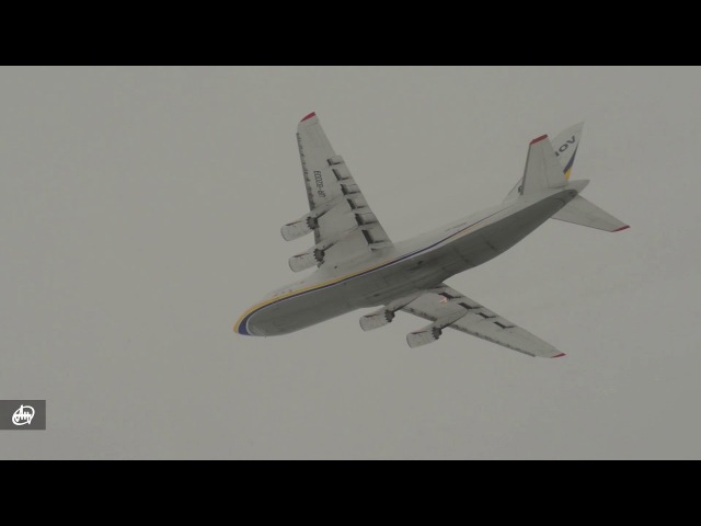 Demo flight of the AN-124\ Демонстраційний політ літака Ан-124