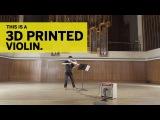 UT Students 3D Print a Six-String Electric Violin (Short)