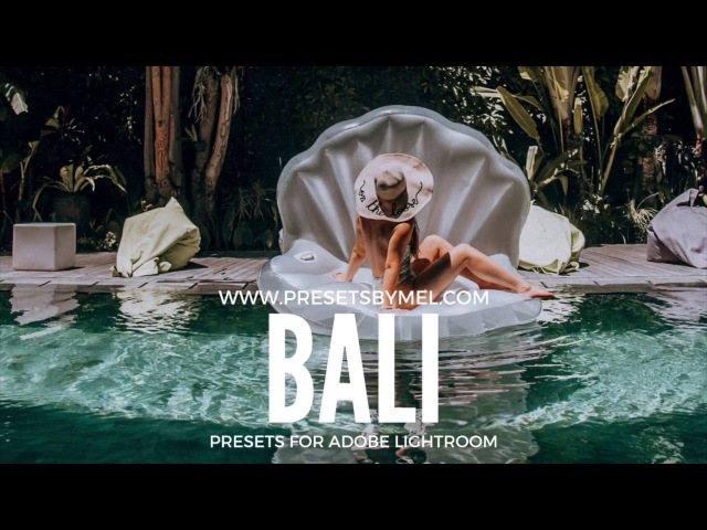 How to use my Bali Presets for Adobe Lightroom