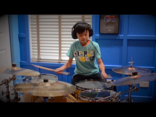 Dexter - The Way You Make Me Feel (Michael Jackson Drum Cover) • США