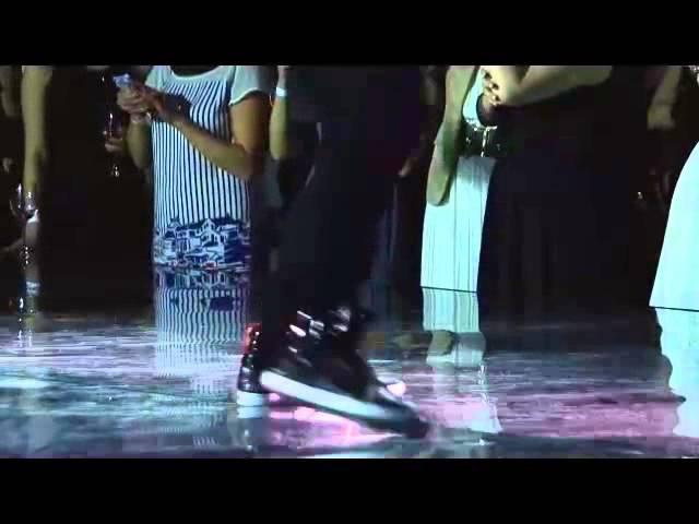 Шоу «Tecni.Art Style Battle» на финале Inoa Color Trophy 2014