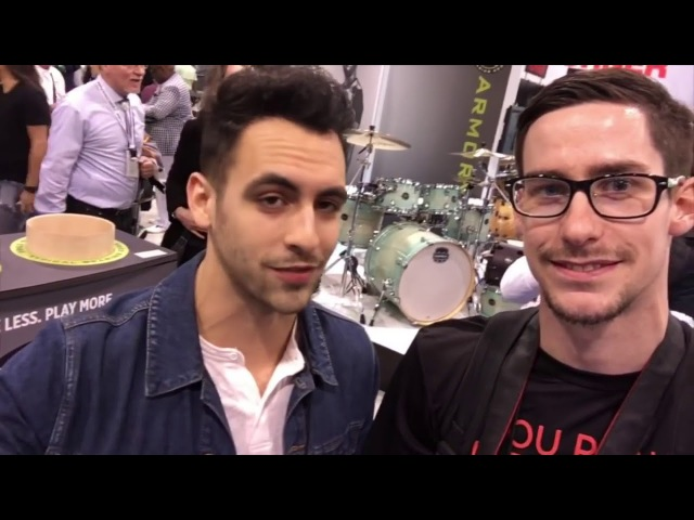 Coop3rdrumm3r goes to NAMM 2017 Ft Cobus, Jared Falk, Anika Nilles More! VLOG