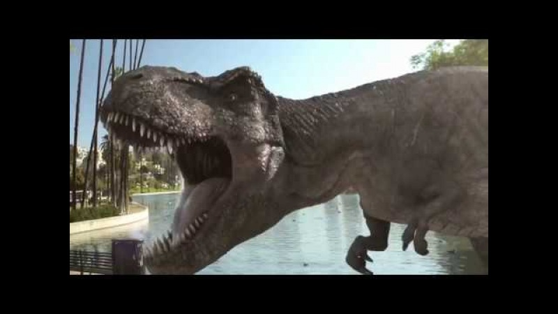 Jurassic World Alive AR Game Announcement Trailer (Universal) iOS, Android