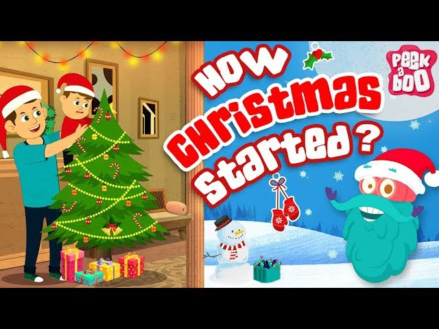 How CHRISTMAS Started ? The Dr. Binocs Show Best Learning Videos For Kids Peekaboo Kidz