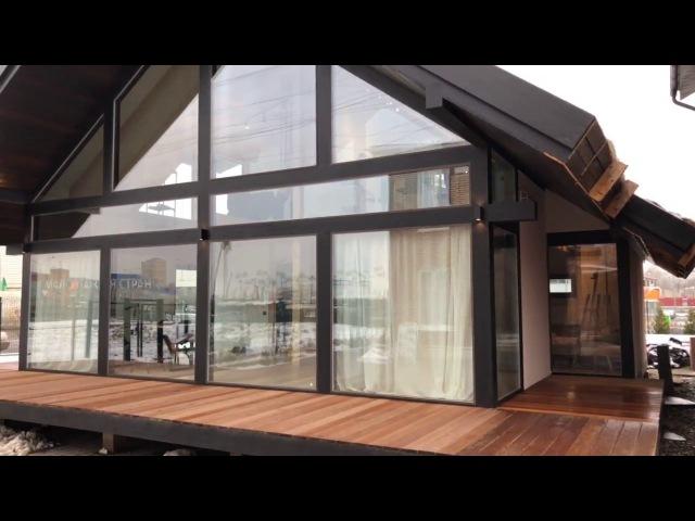 Видео выставочного дома Берген Оптимал 110 м в Москве