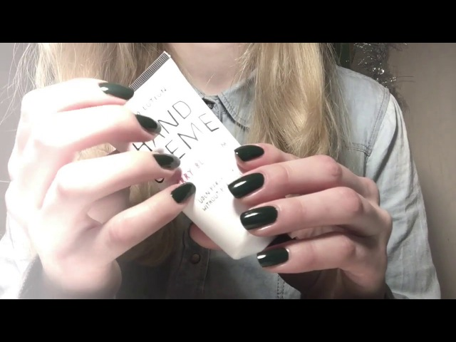 ASMR ♡ Hand massage with lotion tapping ♡