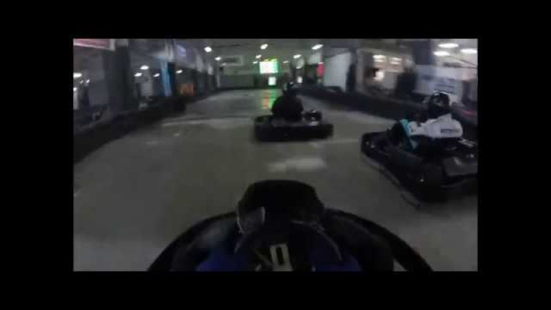 Turba Karting Hall 25.11.2017 Onboard Гонка