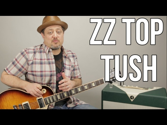 How To Play ZZ Top Tush on Guitar - Blues Rock Guitar Lessons