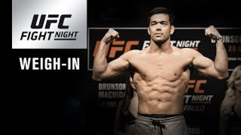 UFC Fight Night Belem Official Weigh-in