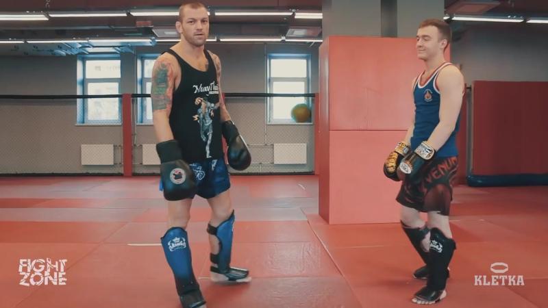 Как бить сильный лоу-кик Техника ударов ногами в Тайском боксе