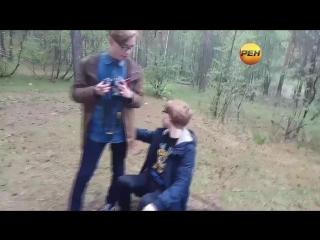 КАРАТЕЛИ ДОТКИ ПО РЕН ТВ!!