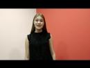 Мудрецова Дарья солистка Арт-студии Вояж