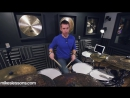 DRUM LESSON - Triplet Groove - by Mike Johnston.