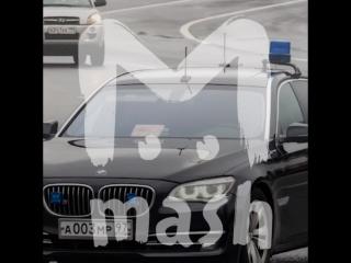 Машина зама Медведева попала в ДТП в Москве