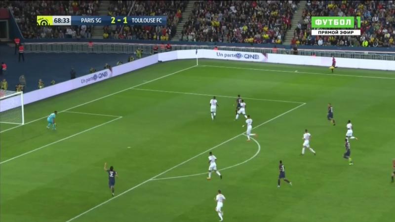 ПСЖ Париж - Тулуза. Франция. Лига 1. 3 тур. 6-2