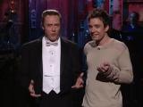Christopher Walken and Jimmy Kimmel
