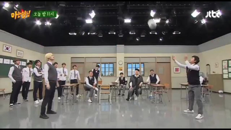 161015 JTBC Knowing Brother with INFINITE | SungJong