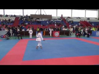 Мемориальный турнир по каратэ памяти Савенкова С.И.22.10.17. Снежана