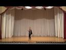 ШУМАКОВА ВАРВАРА VI городской конкурс детских и юношеских балетмейстерских работ «Начало»
