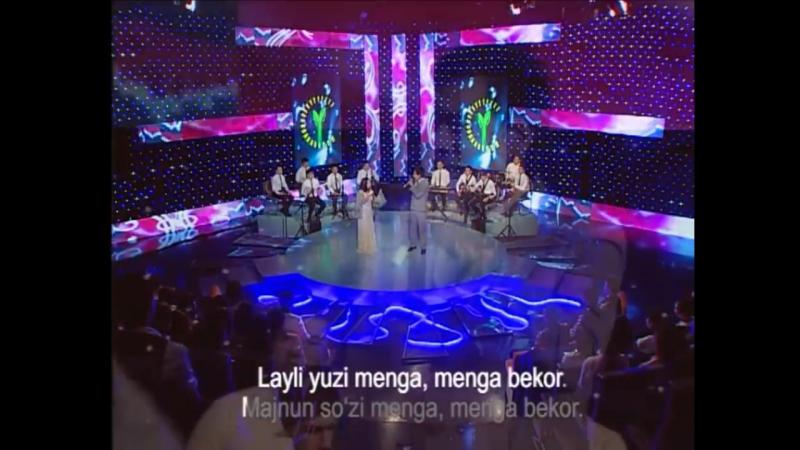 Jasurbek Jabborov va Dilnoza Akbarova - Azizam (concert version)