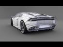 17 SolidWorks Tutorial - Model a Lamborghini Aventador - HD
