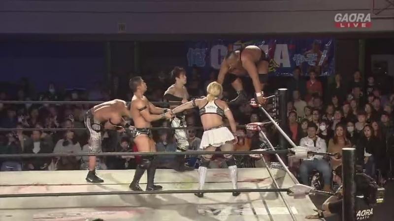 Yosuke Santa Maria La Flamita El Bandido Zachary Wentz vs Naruki Doi Masato Yoshino Jason Lee Big R Shimizu Dragon Gate