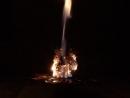 Травяная бесфетильная свеча Шаманская Горение