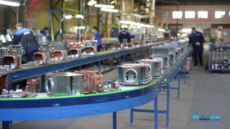 Видео о производстве газовых колонок NEVA от компании BaltGaz