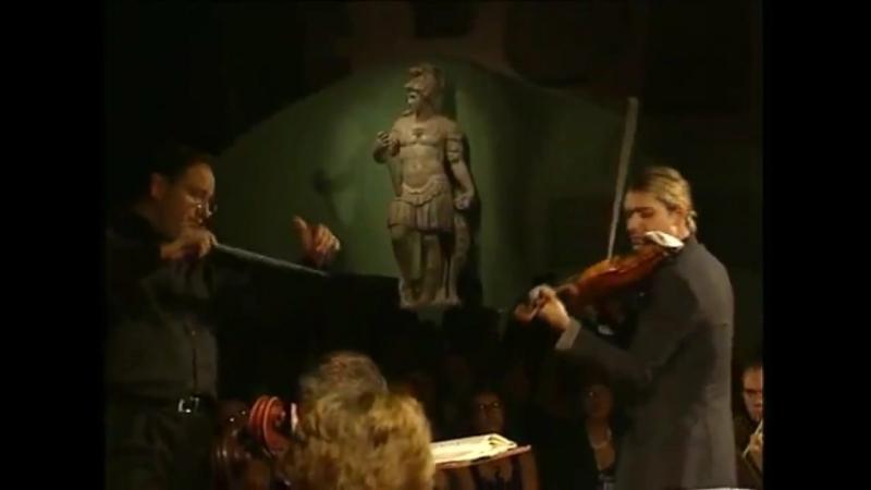 David Garrett BACH Concerto N°2 E-dur BWV1042: II. Adagio ( 16 июля 2008 Италия