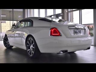 New Lights BMW L E D 🆕 🚗 2019 2018 2017 New Car Wraith vs Ghost White on White_HD.mp4