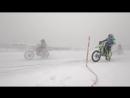 Ледовая гонка MX SpeedWay в Кутузовском Редуте SuperMotoRu