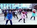 Флешмоб на Привокзальной площади.