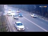 ДТП в Сочи. Дагомыс, поворот к Батумскому шоссе. 23.11.17