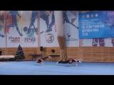 Спортивная акробатика. Чемпионат и первенство СЗФО, г.Архангельск 10 января 2018.