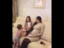 Беременная Ольга Рапунцель старается всё свободное время проводить с детьми