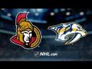 НХЛ - регулярный чемпионат. Нэшвилл Предаторз - Оттава Сенаторз - 52 21, 21, 10