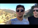 Hiking Runyon Canyon  Tom Daley (русские субтитры)