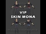 VIP скин девушки MONA