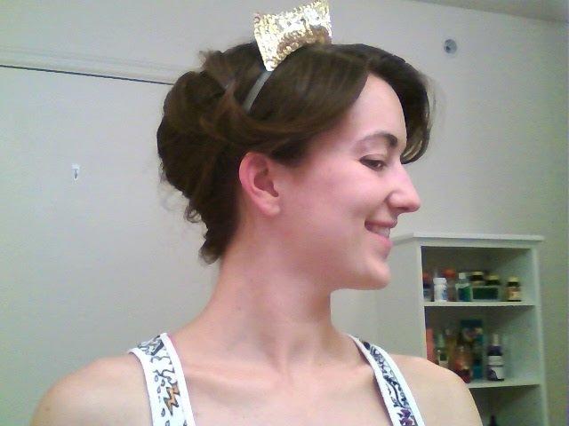 How To: Anastasia's Ballgown Hair